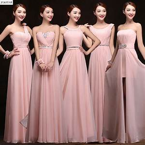 online get cheap blush pink bridesmaid dress aliexpress With robe demoiselle d honneur bordeaux