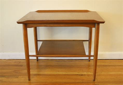 Mid Century Modern Side End Tables  Picked Vintage