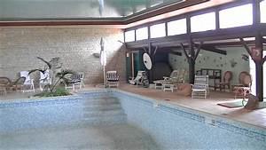 maison avec piscine couverte youtube prix chauffee With construction piscine couverte chauffee