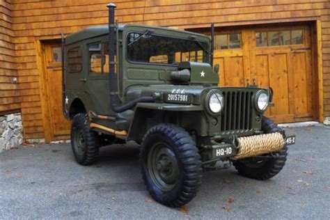 willys  jeep rare arctic package korean war body