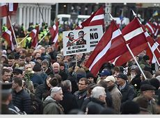 Nazi Waffen SS veterans join controversial march in Latvia