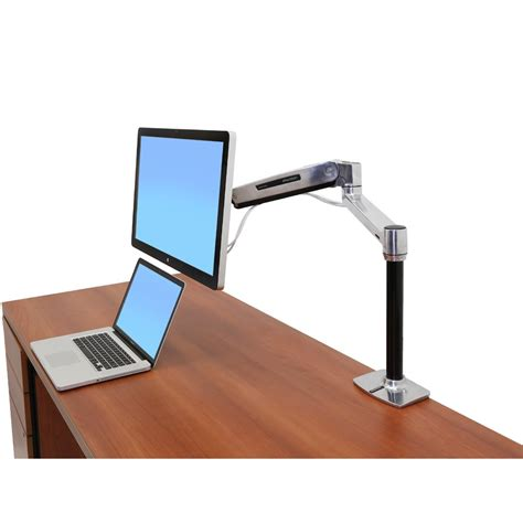 ergotron monitor desk mount sit stand desk monitor arm ergotron 45 384 026