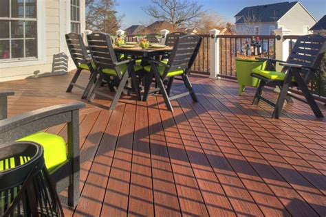 trex transcend decking lava rock trex deck contractor installer massachusetts