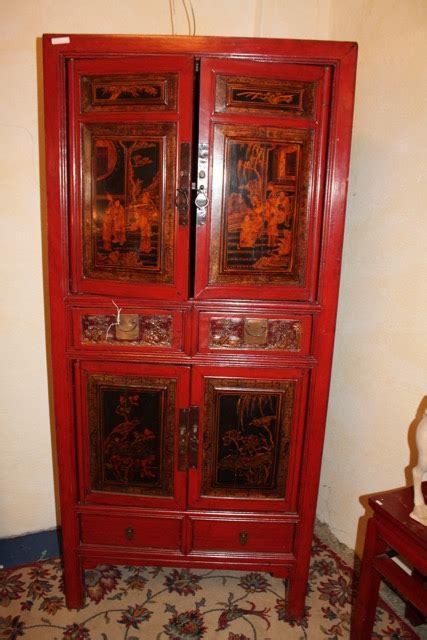 Armoire Quatre Portes by Armoire 233 Troite D 233 Cors Traditionnels Chinois Puces D Oc