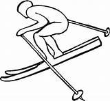 Ski Lift Coloring Chair Snow Skiing Sketchite Rachel Smith Jet sketch template