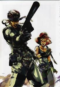 Yoji Shinkawas Metal Gear Solid Art Modern Borefare