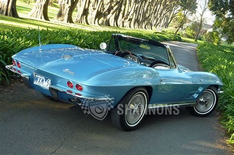 chevrolet corvette stingray convertible lhd auctions