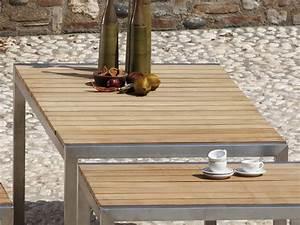 jan kurtz luxury outdoor tisch in edelstahl teak 180 x With französischer balkon mit sonnenschirm jan kurtz