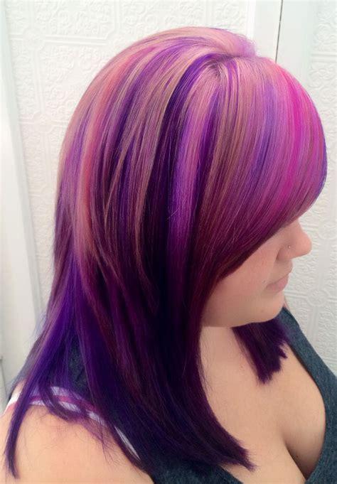pravana hair color how to magenta pink hair color using pravana