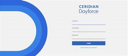 Dayforce Login Ceridian Username Assigned Password Enter
