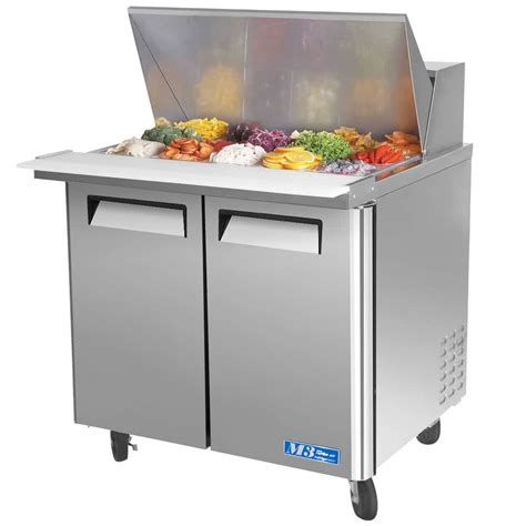 turbo air prep table turbo air mst 36 15 36 quot m3 series mega top refrigerated