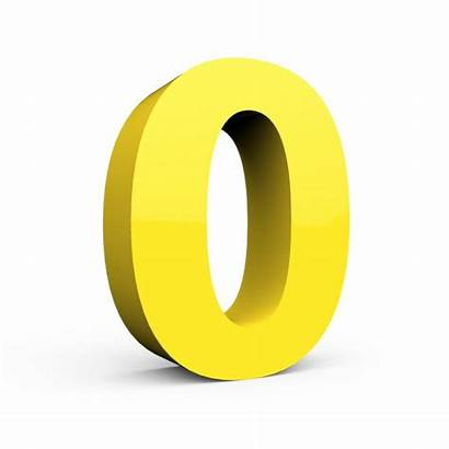 Yellow Number Letter Lowercase Depositphotos