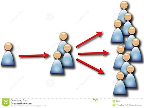 people multiplying more stock illustration illustration