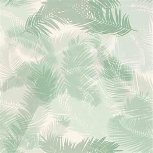 Voilage Vert D Eau : papier peint tropic vinyle sur intiss motif tropical vert d 39 eau ~ Dode.kayakingforconservation.com Idées de Décoration