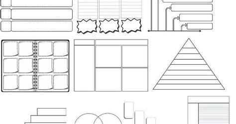 Math Graphic Organizer Templates by The Math Magazine 44 Editable Graphic Organizers