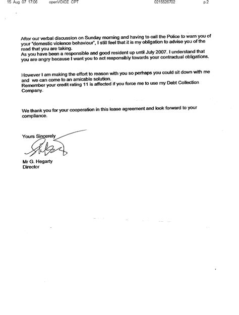 letter from landlord to letter to landlord moving out best photos of landlord Sle