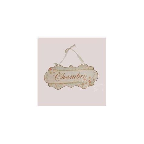pancarte chambre décoration de charme plaque de porte chambre ambiance cosy