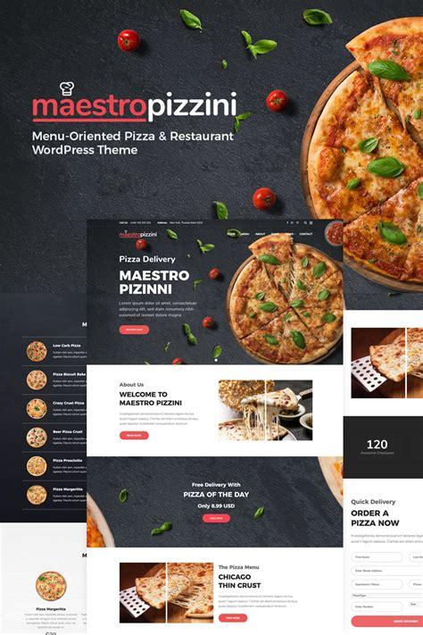 maestropizzini pizza restaurant menu oriented