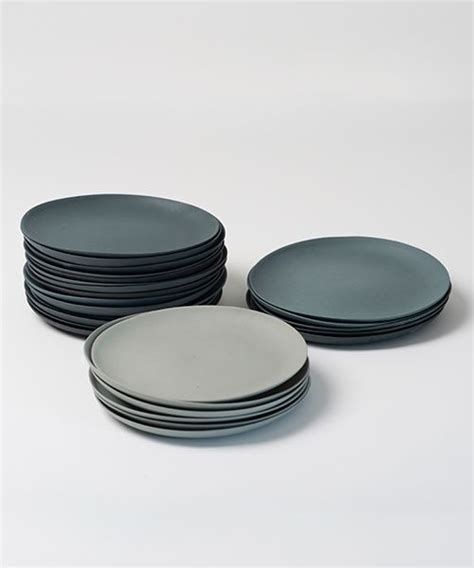 Geschirr Grau Matt by Image Of Teller Grau Set Plates Grey Set Interior