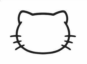 Hello kitty face cake template google search template for Hello kitty mask template