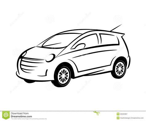 17 Sports Car Vector Line Art Images