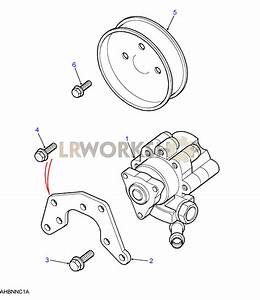 Power Steering Pump - 300tdi