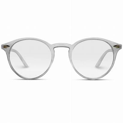 Transparent Glasses Round Clear Frame Frames Optical