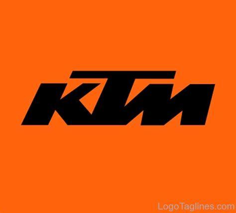 ktm logo  tagline