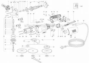 Metabo We14-150quick Parts List And Diagram