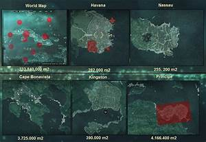 Assassin's Creed Map Comparisons | Forums