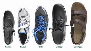 Shoe Widths Explained