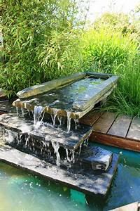 Fontaine Cascade Bassin : bassins angers maine et loire 49 chevalier paysage ~ Premium-room.com Idées de Décoration