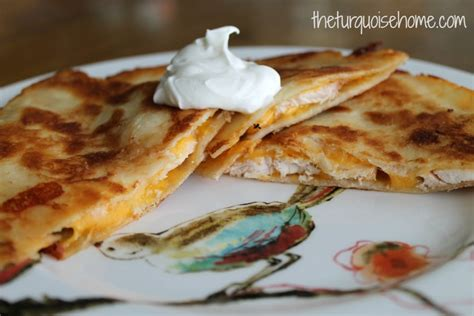 Easy Chicken Quesadillas {with A Secret Ingredient} The