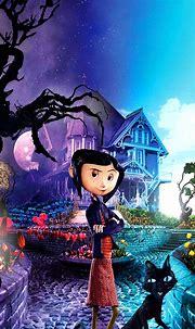 Coraline (2009) Phone Wallpaper   Moviemania