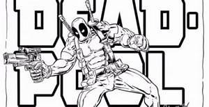 Imagenes Para Colorear De Deadpool Como Dibujar A Deadpool