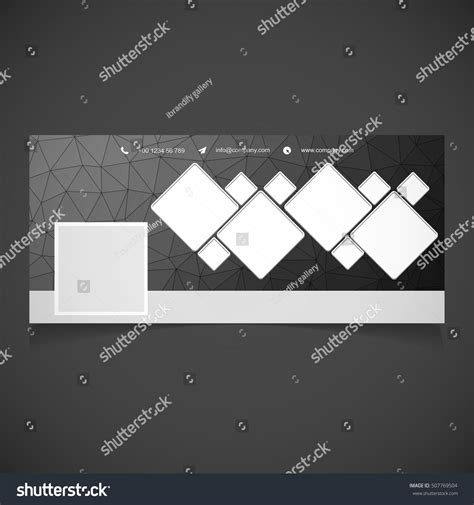 creative black background photography banner template