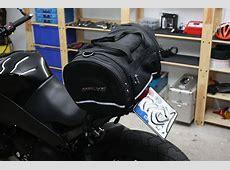 Buell XB Packtasche Hecktasche von Polo triumphbikesde