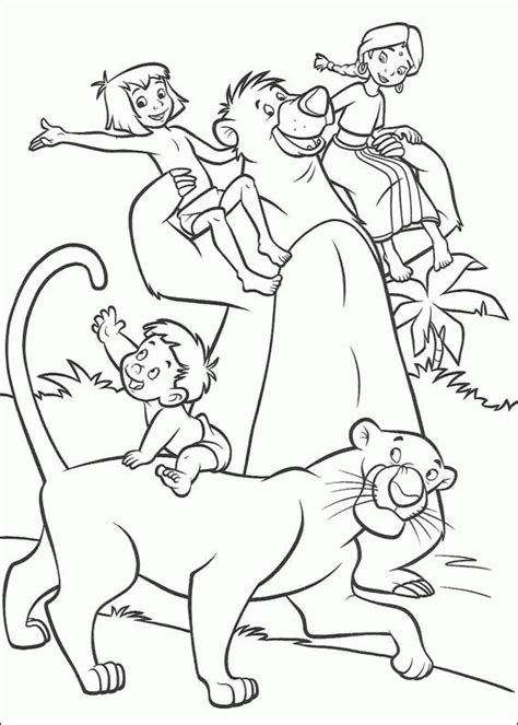 Coloring Jungle Book by Jungle Book 2 Coloring Pages Coloringpagesabc