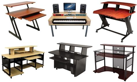 recording studio computer desk the best studio desk for music recording and producing