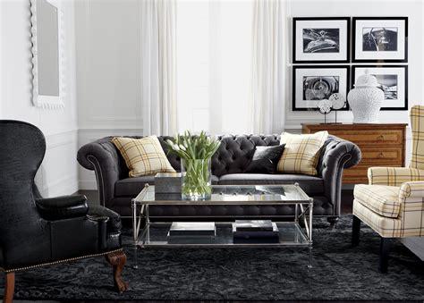 Classic Chrome Living Room  Ethan Allen