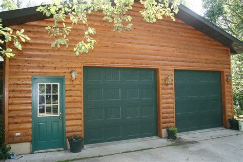 Recessed Carriage Panel + House Garage Doors St. Cloud Mn