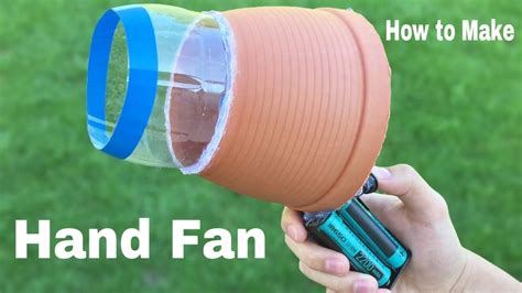 How To Make A Big Hand Fan Air Blower Easy To Build