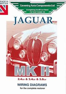 Jaguar Mark 2 Mkii Wiring Diagrams Book  9194