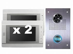 Türklingel Mit Kamera : video klingelanlage t rklingel mit kamera und 2x 7 zoll monitoren sony ccd ~ Eleganceandgraceweddings.com Haus und Dekorationen