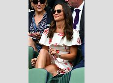 PIPPA MIDDLETON at Day One of Championships in Wimbledon