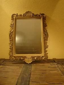 Lovely Vintage Gold Framed Homco Mirror- Vintage Home