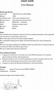 Zhimeide Technology Dfit Smart Watch User Manual