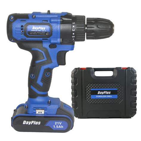 max brushed powerful cordless drill driver tool li ion