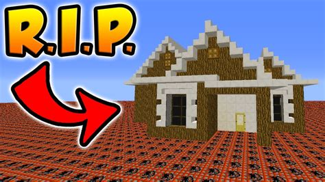 How Does It Take To A House by How Much Tnt Does It Take To Up This Minecraft House