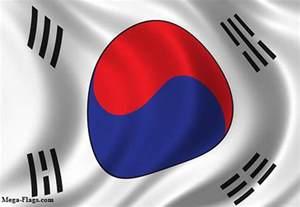 Korean South Korea Flag